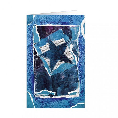 Blue (5375) silbergeprägt