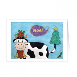 La petite vache aime Noël · Shu-Ying Huang (5818SS)